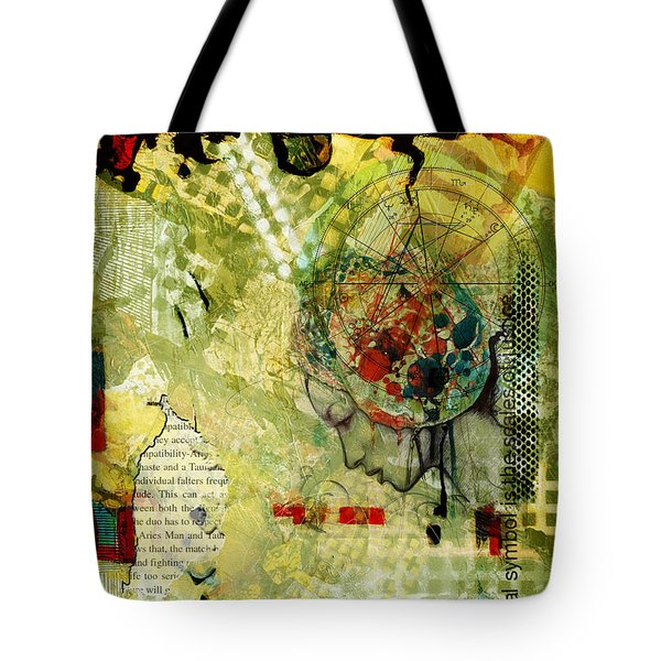 Abstract Tarot Art 009 Tote Bag by Corporate Art Task Force