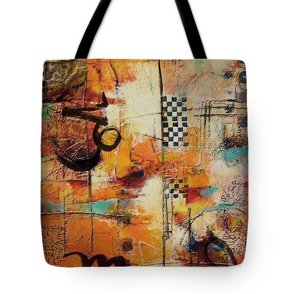 Abstract Tarot Art 010 Tote Bag by Corporate Art Task Force
