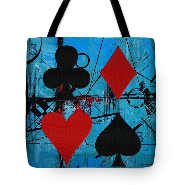Abstract Tarot Art 012 Tote Bag by Corporate Art Task Force