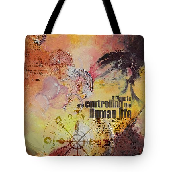 Abstract Tarot Art 023 Tote Bag by Corporate Art Task Force