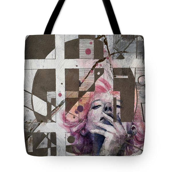 Abstract Woman 001 Tote Bag by Corporate Art Task Force