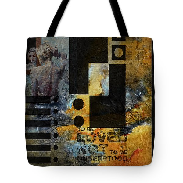 Abstract Women 006 Tote Bag by Corporate Art Task Force