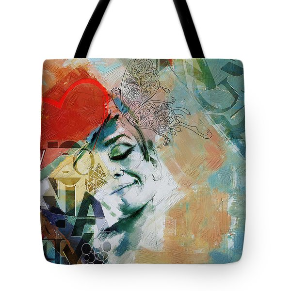 Abstract Women 008 Tote Bag by Corporate Art Task Force