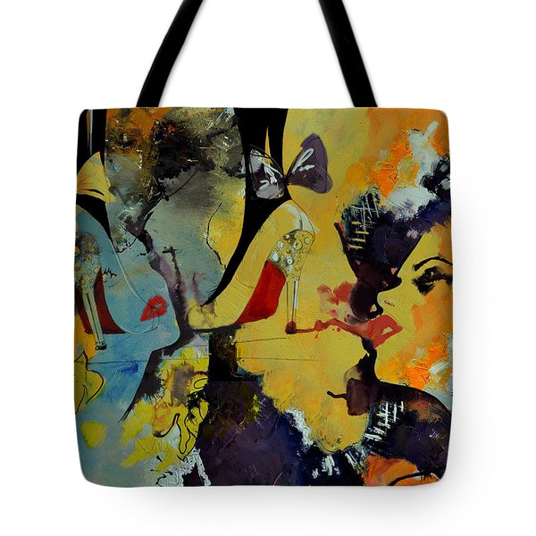Abstract Women 010 Tote Bag by Corporate Art Task Force
