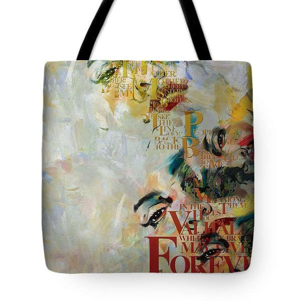 Abstract Women 018 Tote Bag by Corporate Art Task Force