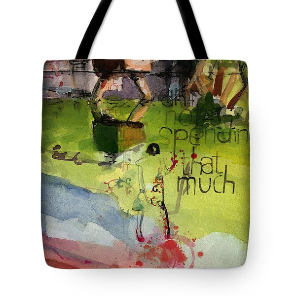 Abstract Women 023 Tote Bag by Corporate Art Task Force