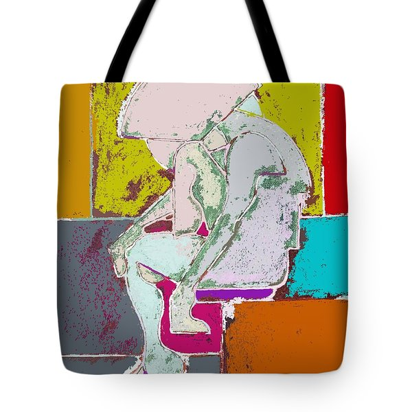 ABSTRACTION 113 Tote Bag by Patrick J Murphy