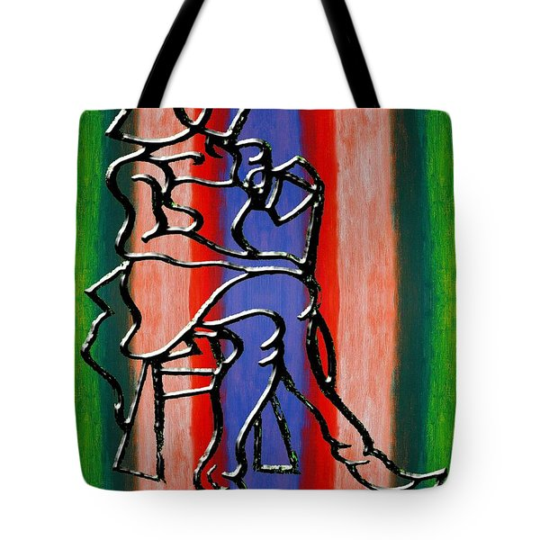 Abstraction 232 Tote Bag by Patrick J Murphy