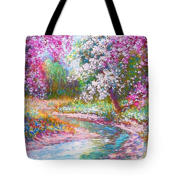 Abundant Love Tote Bag by Jane Small