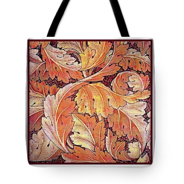 Acanthus Vine Design Tote Bag by William Morris