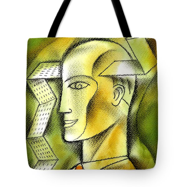 Accaunting  Tote Bag by Leon Zernitsky