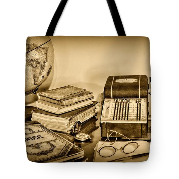 Accountant - It's All About the Numbers Tote Bag by Paul Ward