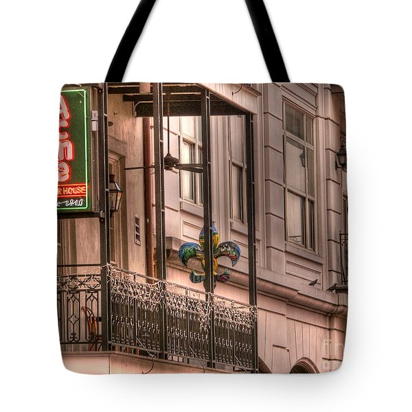 Acme Oyster House Tote Bag by David Bearden