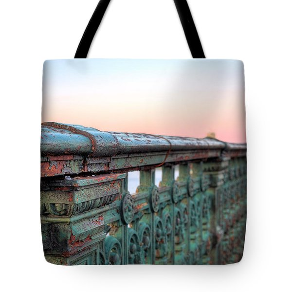 Across the Charles  Tote Bag by JC Findley