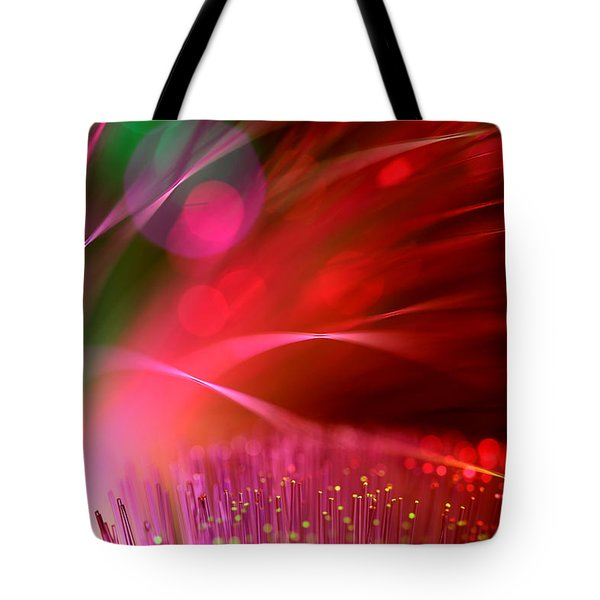 Across The Universe Tote Bag by Dazzle Zazz