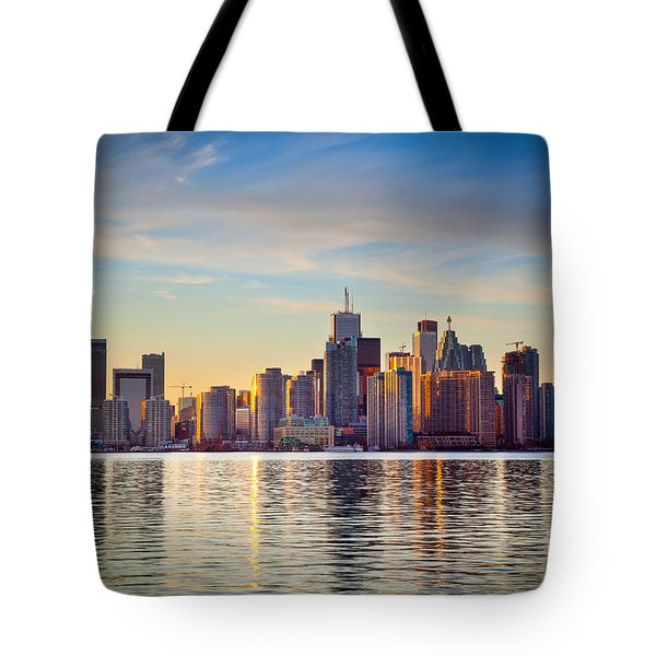 Across The Water Tote Bag by Inge Johnsson