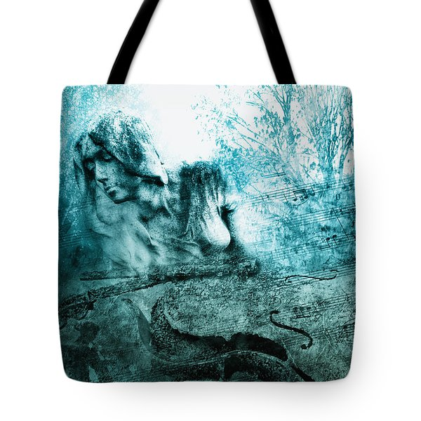 adagio for a broken dream II Tote Bag by Joachim G Pinkawa