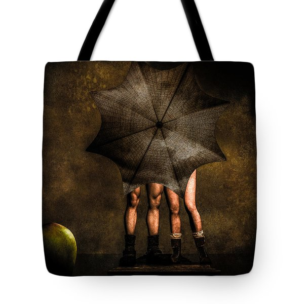Adam And Eve Tote Bag by Bob Orsillo