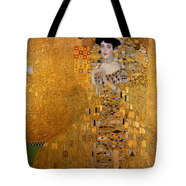 Adele Bloch Bauers Portrait Tote Bag by Gustive Klimt