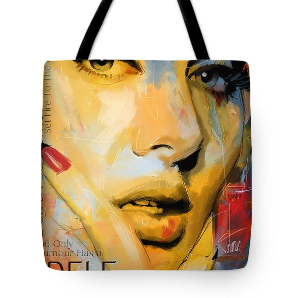 Adele Tote Bag by Corporate Art Task Force