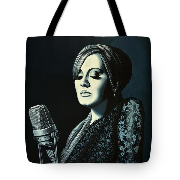 Adele Skyfall Painting Tote Bag by Paul Meijering