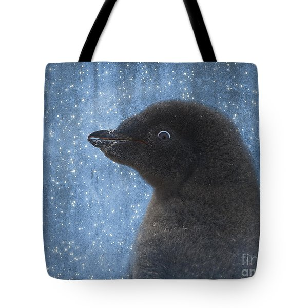 Adelie Winter Magic... Tote Bag by Nina Stavlund