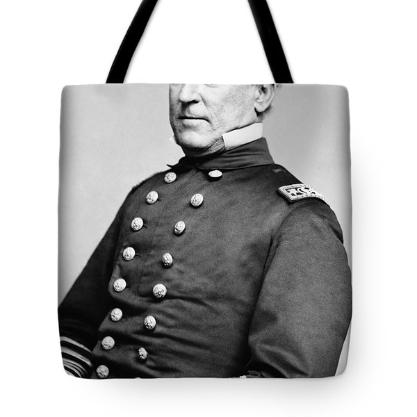 Admiral David Farragut Tote Bag by War Is Hell Store