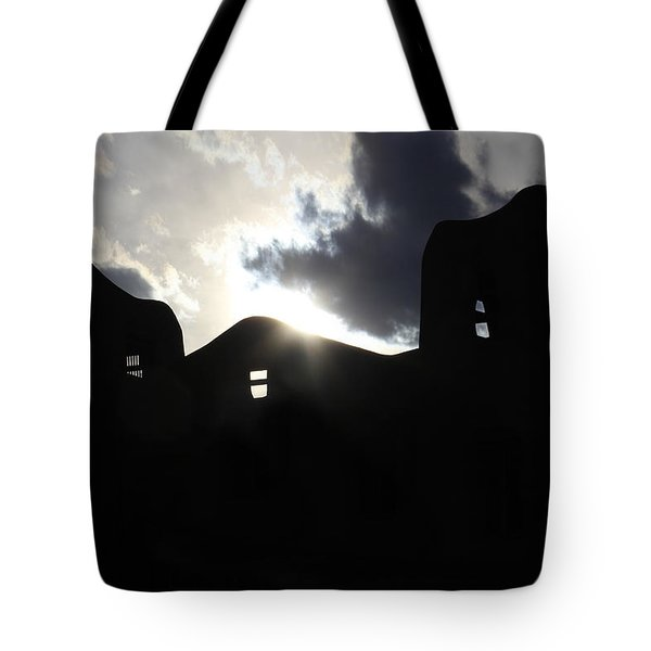 Adobe in the Sun Tote Bag by Mike McGlothlen
