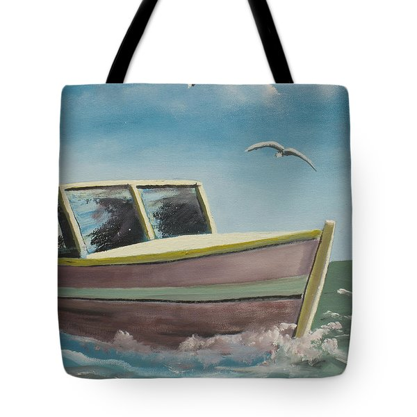 Adventure Tote Bag by Marcel Quesnel