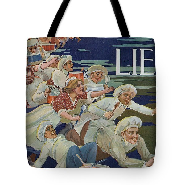 Advertisement For Extractum Carnis Liebig Tote Bag by English School