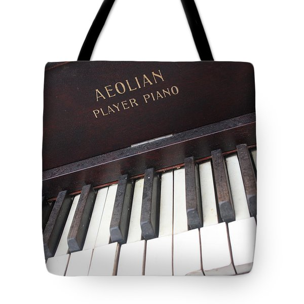 Aeolian Player Piano-3484 Tote Bag by Gary Gingrich Galleries