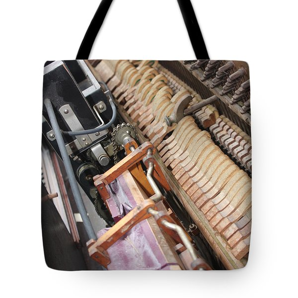 Aeolian Player Piano-3487 Tote Bag by Gary Gingrich Galleries