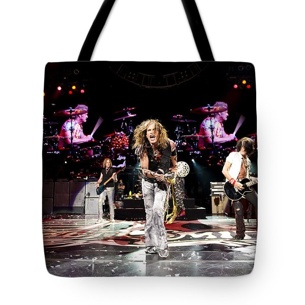 Aerosmith - Austin Texas 2012 Tote Bag by Epic Rights