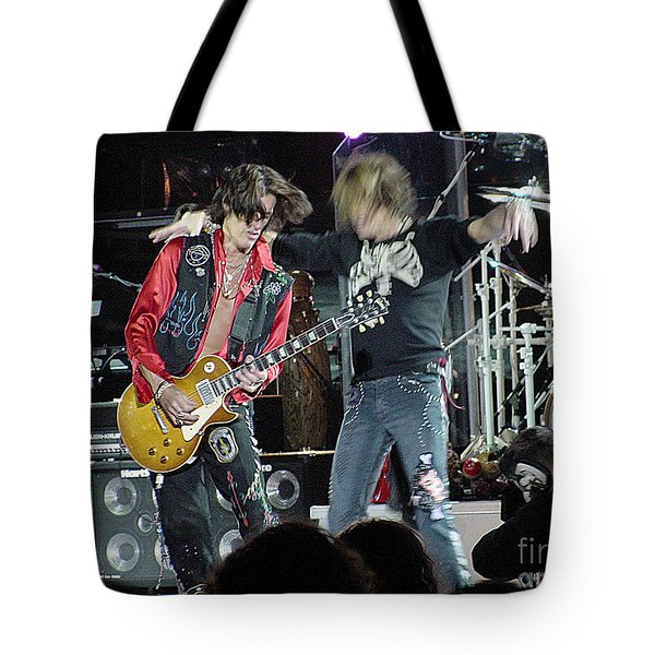 Aerosmith - Joe Perry -dsc00182-2 Tote Bag by Gary Gingrich Galleries