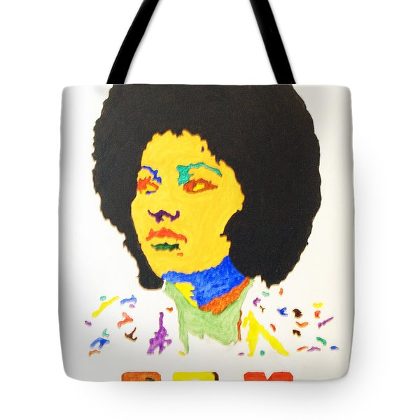 Afro Pam Grier Tote Bag by Stormm Bradshaw