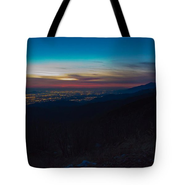After Dark Tote Bag by Heidi Smith