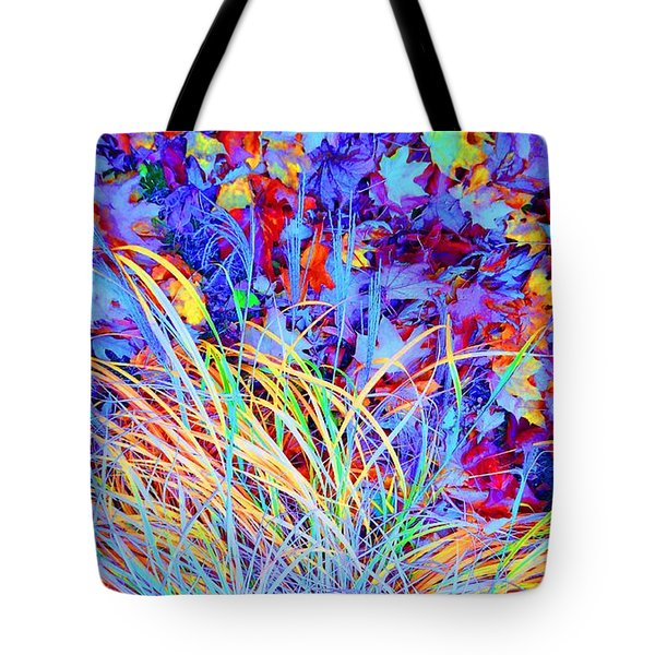 After The Fall Tote Bag by Ann Johndro-Collins