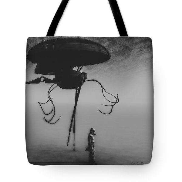 After The Invasion Tote Bag by Bob Orsillo