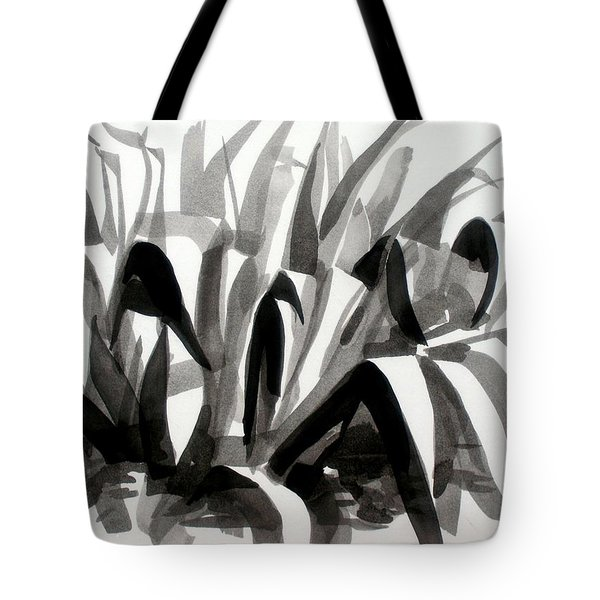 After The Iris Blooms Have Fallen Tote Bag by Kip DeVore