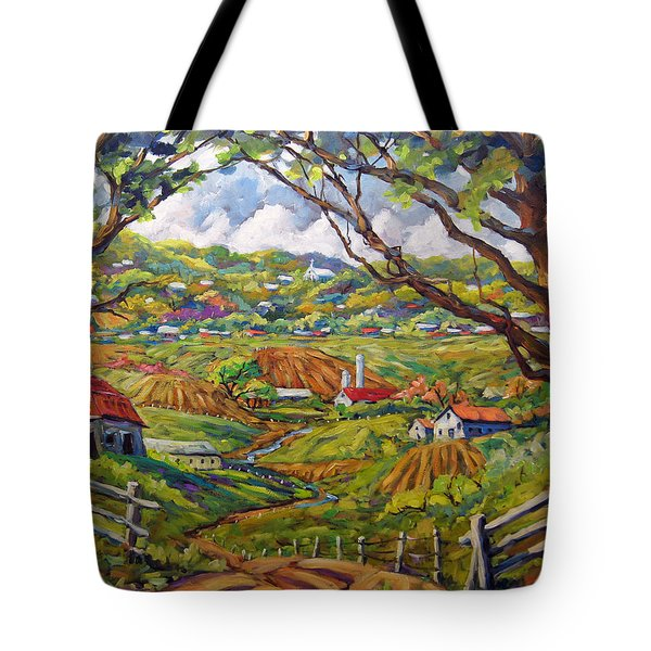 After The Rain By Prankearts Tote Bag by Richard T Pranke