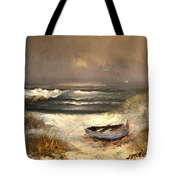 After The Storm Passed Tote Bag by Sandi OReilly