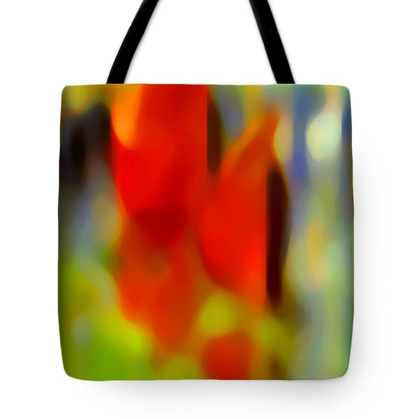 Afternoon In The Park Tote Bag by Amy Vangsgard