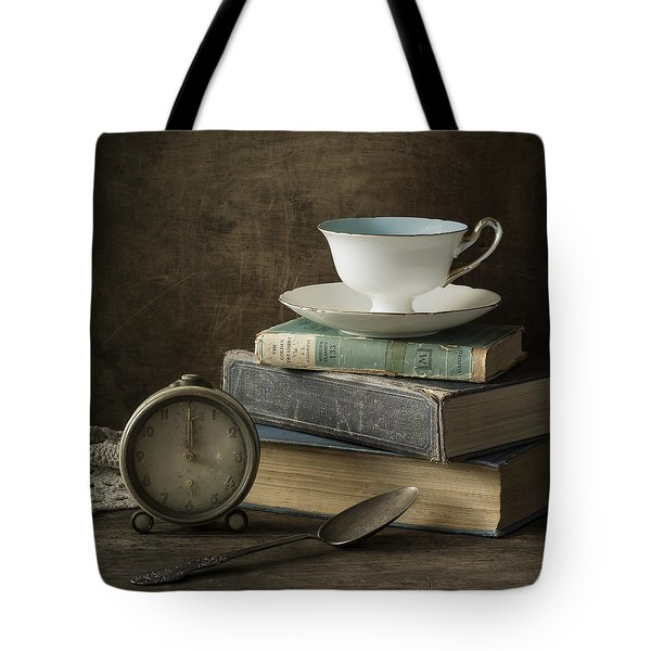 Afternoon Tea Tote Bag by Amy Weiss