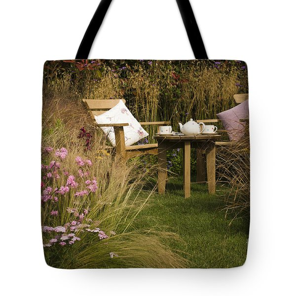 Afternoon Tea Tote Bag by Anne Gilbert