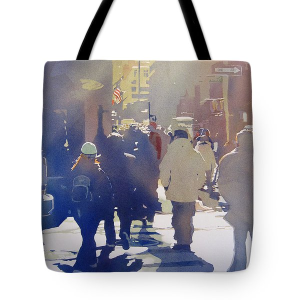Against The Light Tote Bag by Kris Parins