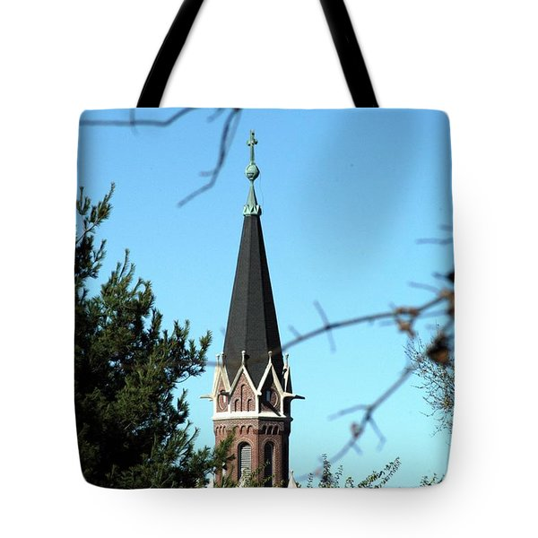 Against The Sky Tote Bag by Joseph Yarbrough
