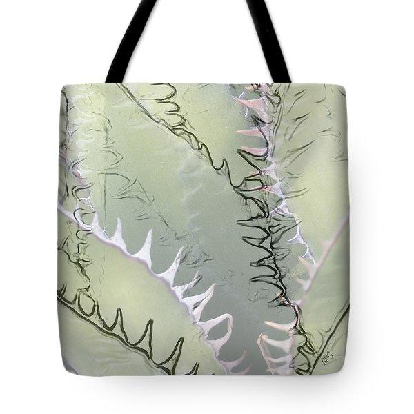 Agave Abstract Tote Bag by Ben and Raisa Gertsberg