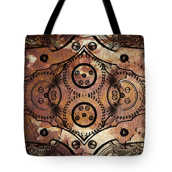 Age Of The Machine 20130605rust vertical Tote Bag by Wingsdomain Art and Photography