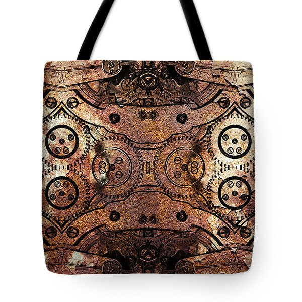 Age Of The Machine 20130605rust Tote Bag by Wingsdomain Art and Photography