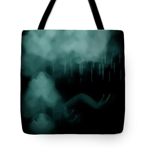 Agitation Tote Bag by Jessica Shelton